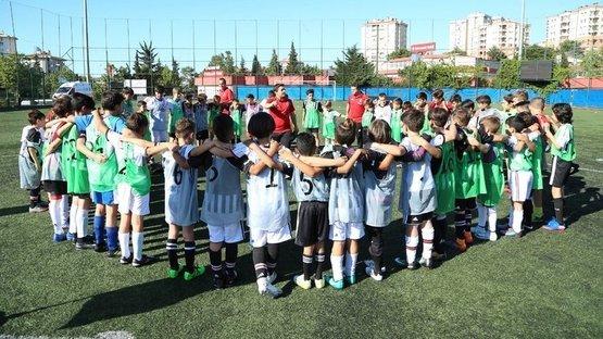 İşte geleceğin kartalları! 9 çocuk Beşiktaş altyapısına girmeye hak kazandı