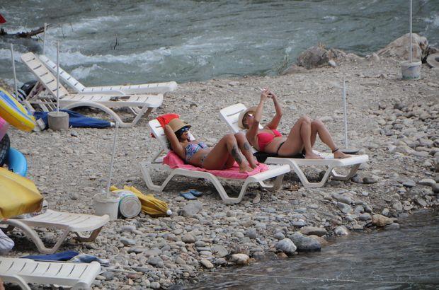 Burası ne Ege, ne de Akdeniz! Bu plaj başka...