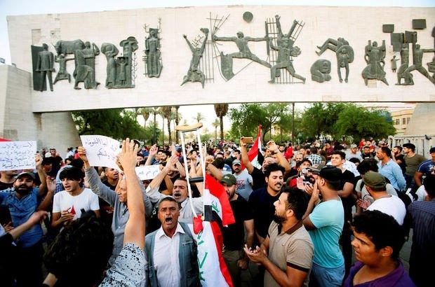 Irak'ta İran karşıtı protestolar devam ediyor