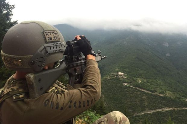 Gümüşhane'deki çatışmanın ardından PKK'lı teröristlerin izleri sürülüyor