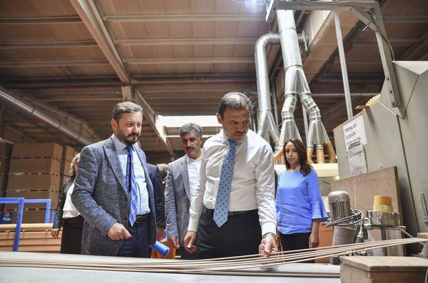 TMSF Başkanı Gülal'dan kayyum atanan firmalara ziyaret