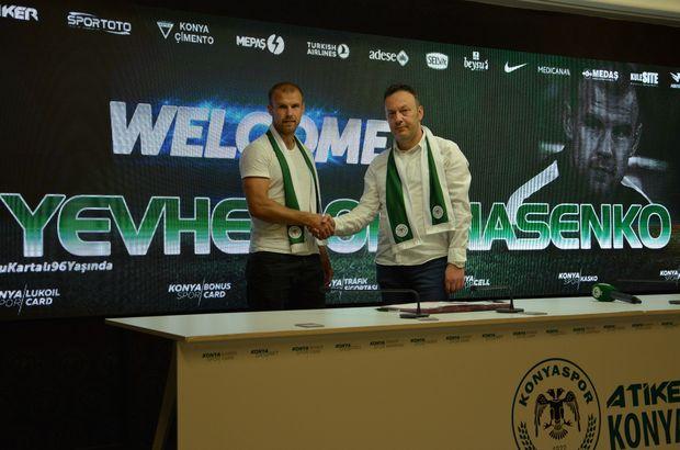 Opanasenko, Konyaspor'da!