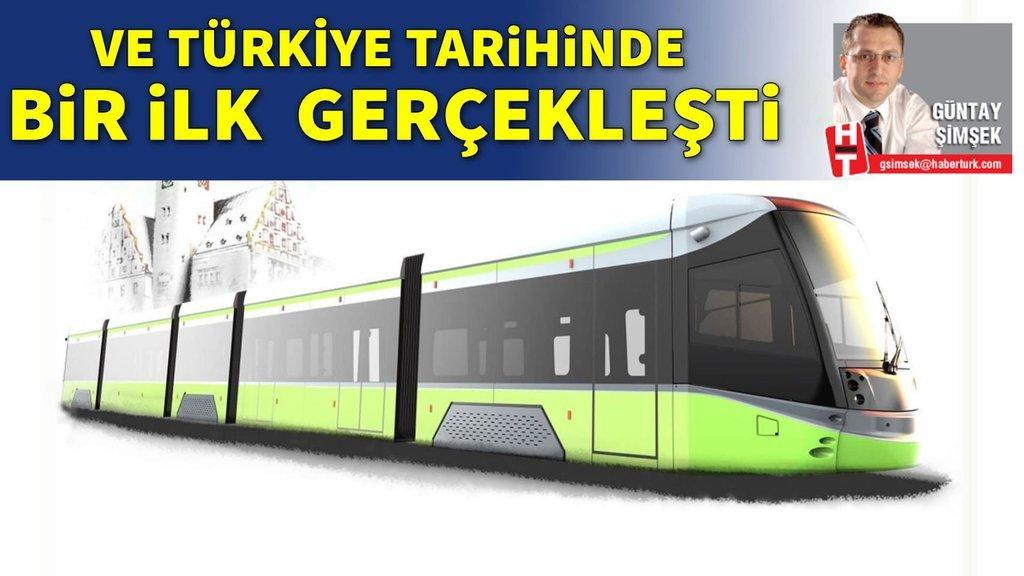 Türkiye tarihindeki ilk tramvay ihracatını yaptı