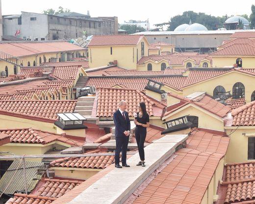 Kapalıçarşı'nın çatısında restorasyon tamamlandı