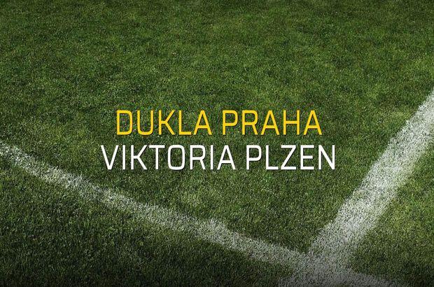 Dukla Praha - Viktoria Plzen rakamlar