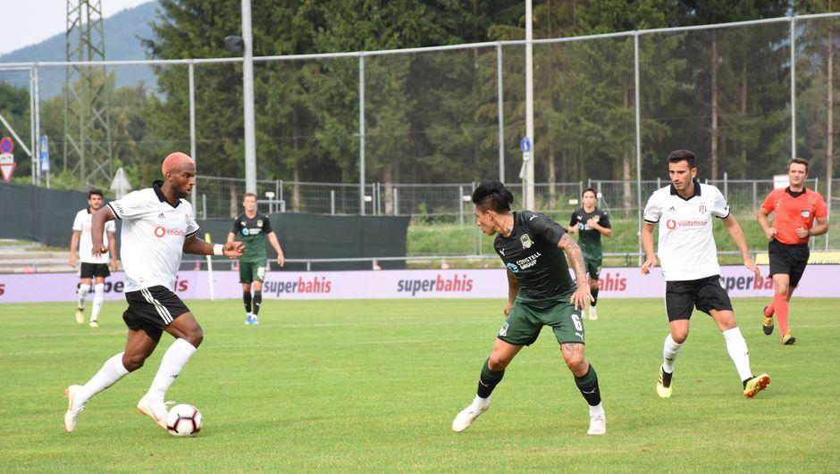 Beşiktaş'ta kamp galibiyetle sona erdi
