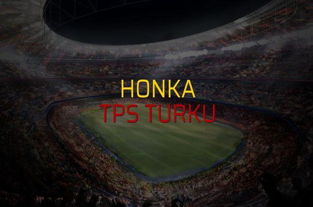 Honka - TPS Turku maç önü