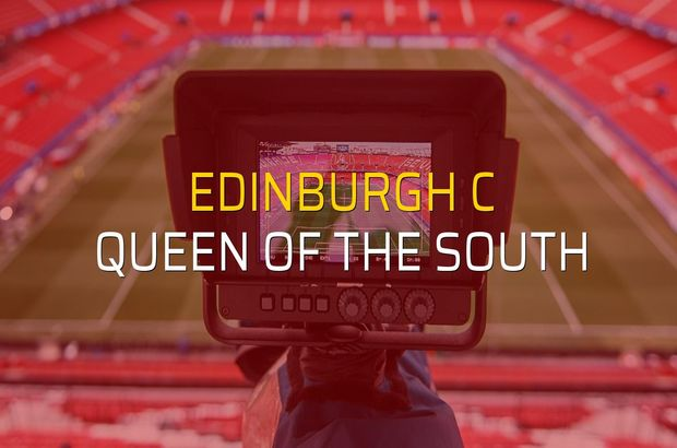 Edinburgh C - Queen of the South maçı ne zaman?