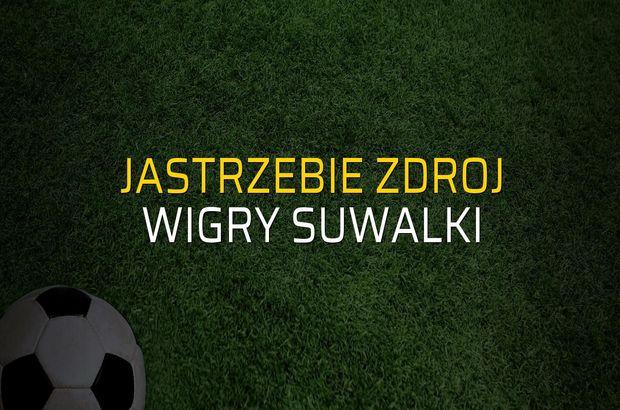 Jastrzebie Zdroj - Wigry Suwalki rakamlar