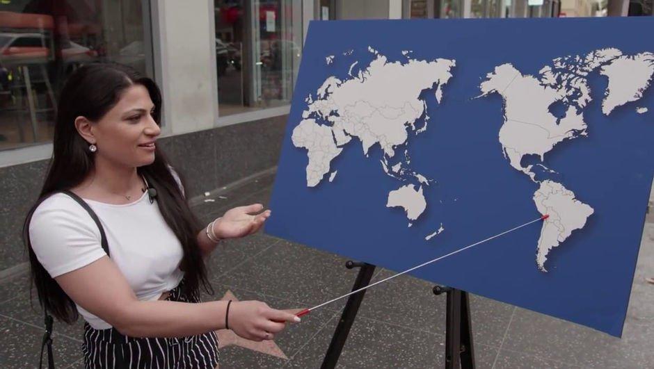 ABD'lilerden haritada ülke göstermeleri istendi! İşte cevaplar...
