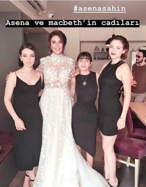 Asena Tuğal ile Şahin Irmak evlendi- Magazin haberleri