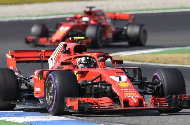 Formula 1 Almanya GP'sinde Vettel ilk sıradan başlayacak