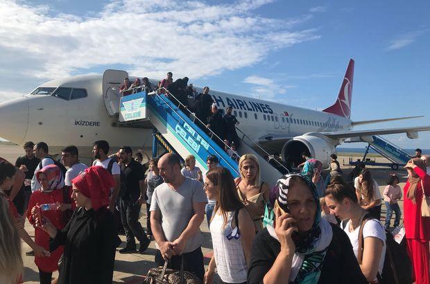 Trabzon-Ankara uçağı karıştı!