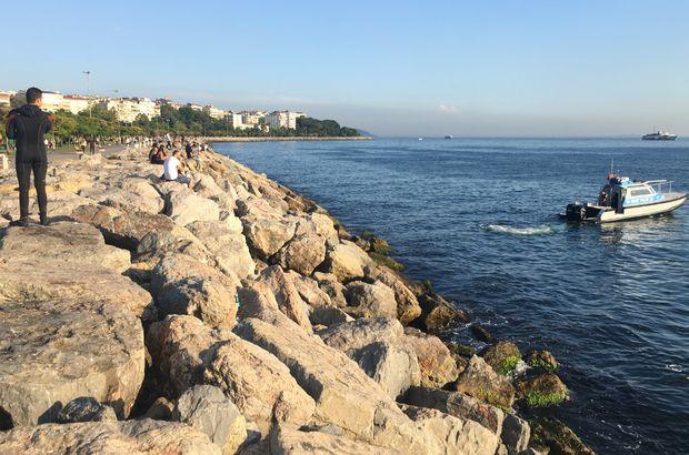 Kadıköy'de serinlemek için denize giren kişi boğuldu