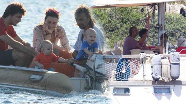Yeşim Büber yaşadığı tekneyle tura çıktı - Magazin haberleri