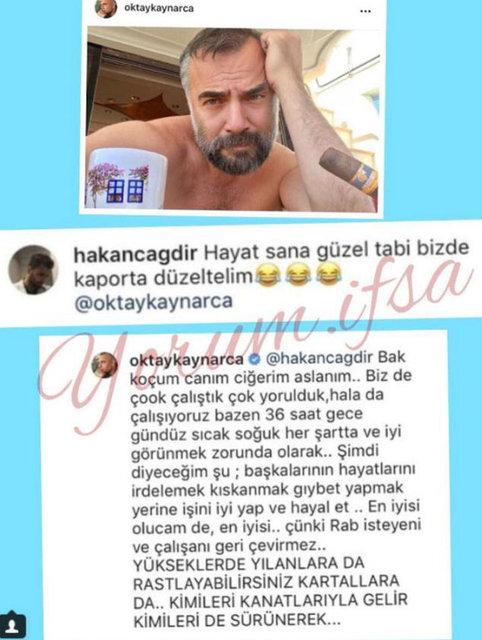 Oktay Kaynarca'dan takipçisine tepki! - Magazin haberleri