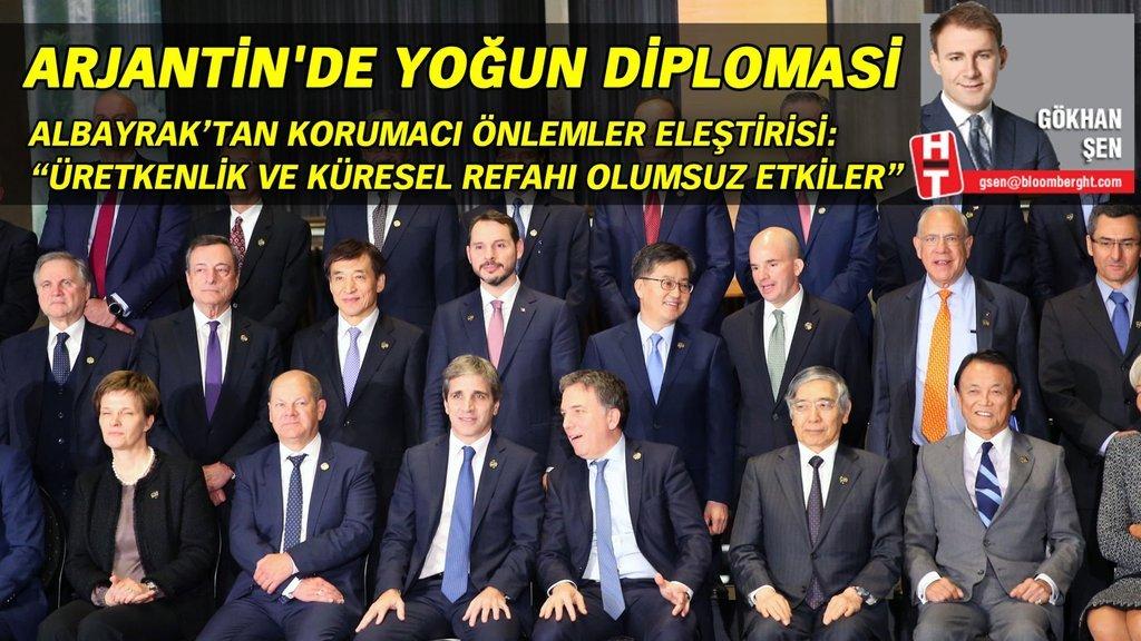 Arjantin'de yoğun diplomasi