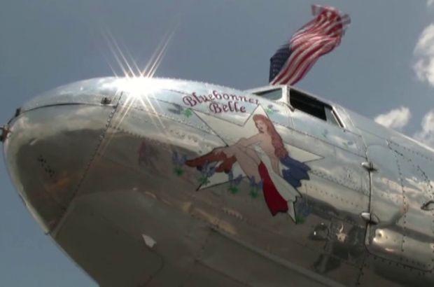 ABD'de 2. Dünya Savaşı döneminin uçağı düştü