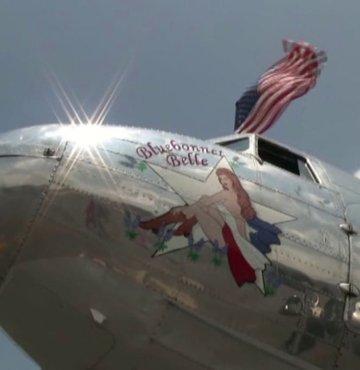 ABD'de 2. Dünya Savaşı dönemi uçağı düştü!