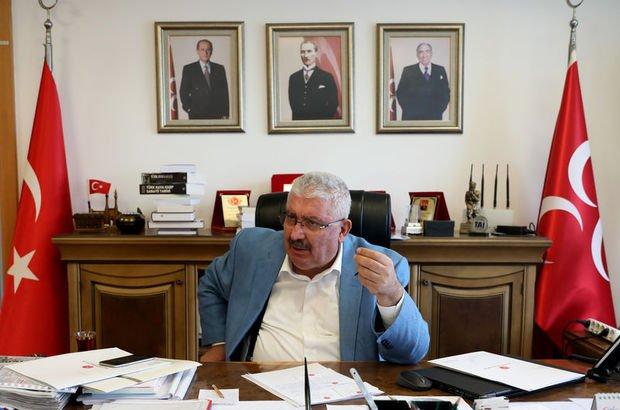 Son dakika: MHP'li Semih Yalçın: İYİ Parti'den dönüş olursa değerlendiririz