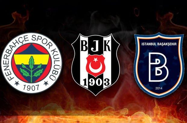 Fenerbahçe, Medipol Başakşehir ve Beşiktaş'ın rakipleri belli oluyor!