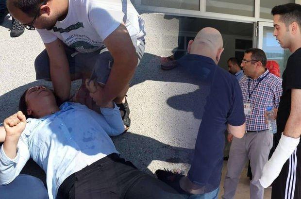 Son dakika: Samsun'da KPSS için yanlış okula geldiler, sinir krizi geçirdiler
