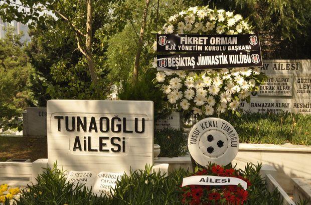 Beşiktaş'ta Yusuf Tunaoğlu anıldı