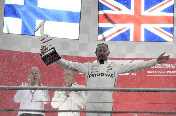 Formula 1 Almanya GP'sini Hamilton kazandı
