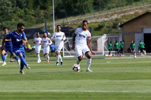 Alanyaspor'dan hazırlık maçında 7 gol