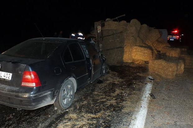 Bilecik'te meydana gelen kazada 5 kişi yaralandı