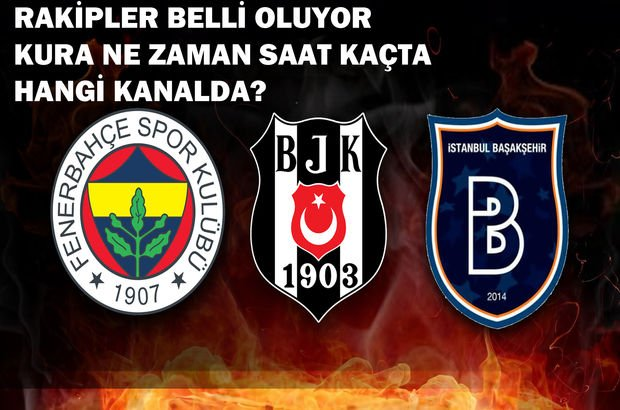Şampiyonlar kurala çekimi ne zaman saat kaçta hangi kanalda? İşte Fenerbahçe'nin muhtemel rakipleri
