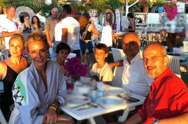 Gül Gölge ile Murat Saygı, Bodrum'da buluştu - Magazin haberleri