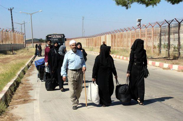 46 bin Suriyeli Türkiye'ye döndü