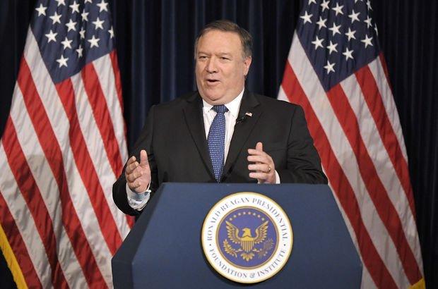 Pompeo'dan İran'ın liderlerine 'mafya' benzetmesi!