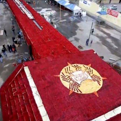 Dünyanın en büyük çiçek anıtı