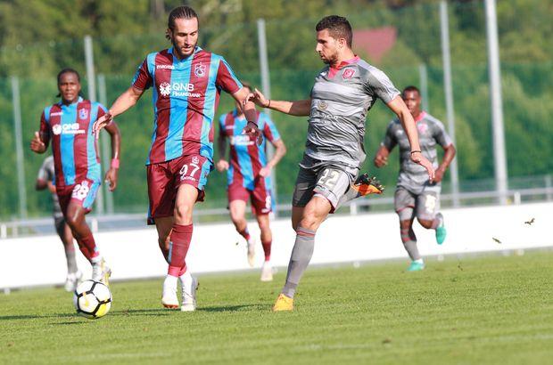 Trabzonspor - El Duhail hazırlık maçı sonucu