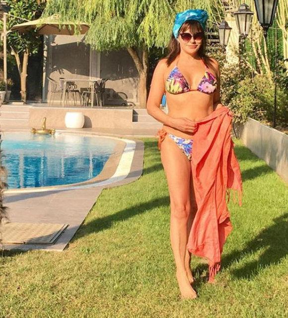 Aydan Şener sosyal medyayı salladı - Magazin haberleri