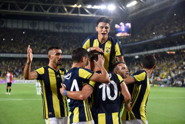 İşte Fenerbahçe'nin yeni sistemi! '4-1-2-3 DOS Geniş Alan'