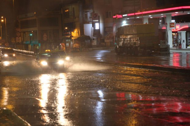 İstanbul yağmur yağışı