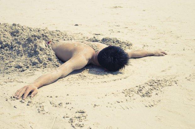 Kum banyosu felç riskini artırıyor!