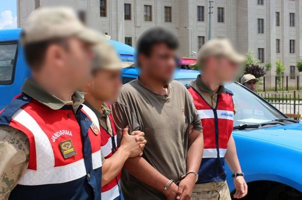 Afrin'de yakalanan teröriste 24 yıl hapis cezası