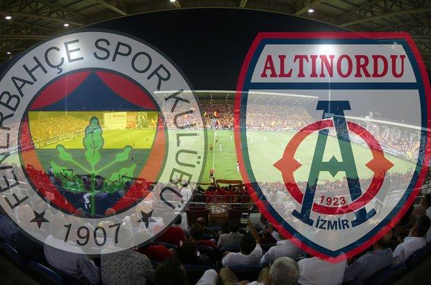 Altınordu Fenerbahçe