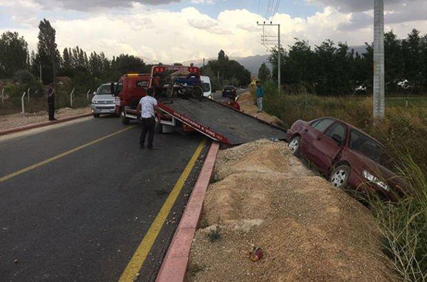 Konya'da direksiyon başında kalp krizi geçiren sürücü öldü