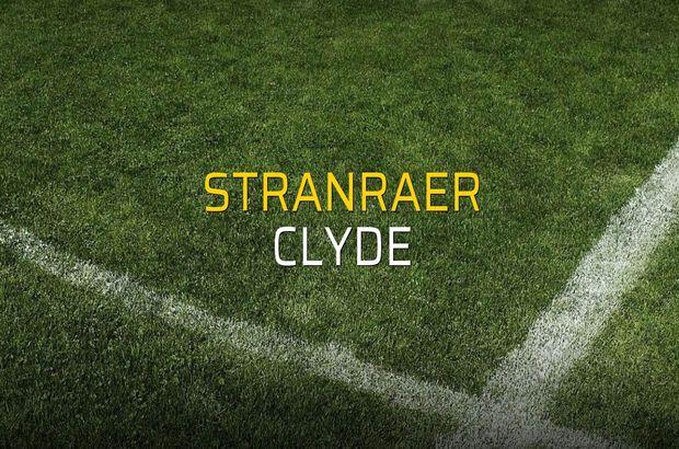 Stranraer - Clyde maç önü