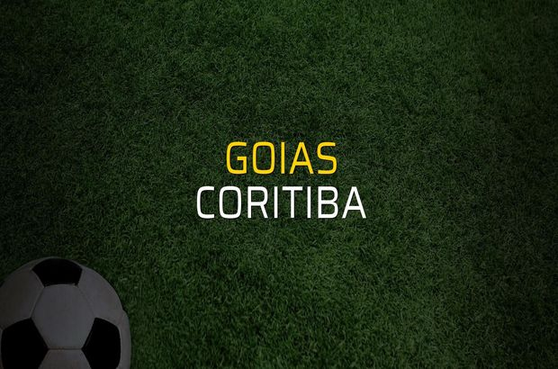 Goias - Coritiba rakamlar