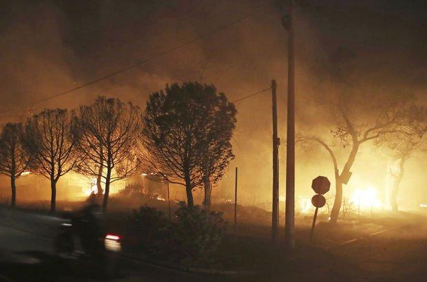 Son dakika: Yunanistan'daki yangında 74 kişi öldü! 164 kişi yaralandı