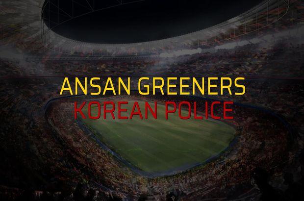 Ansan Greeners - Korean Police sahaya çıkıyor