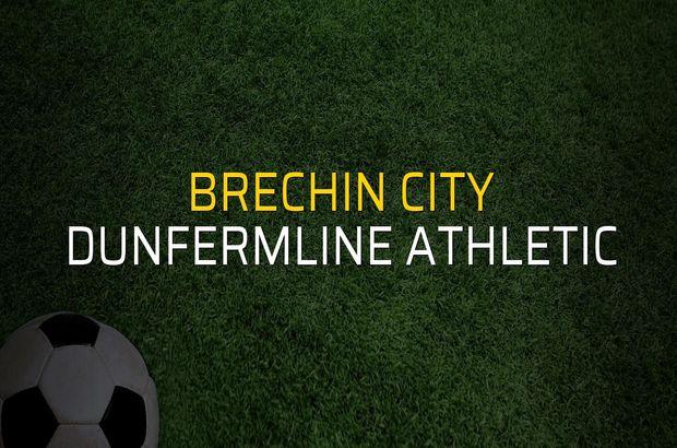 Brechin City - Dunfermline Athletic maçı heyecanı