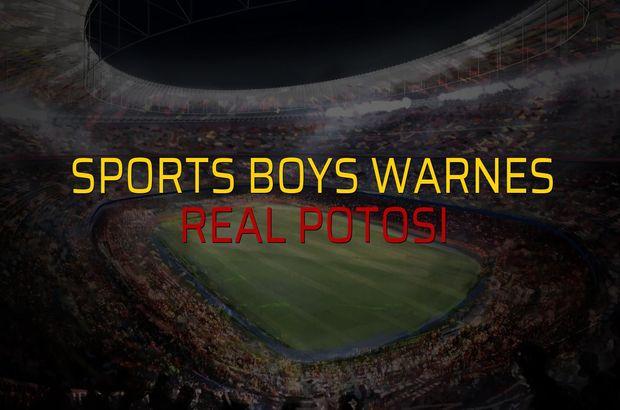 Sports Boys Warnes - Real Potosi maçı ne zaman?