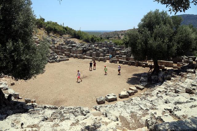 """Antik çağın 3 bin yıllık liman kenti """"Kaunos"""""""